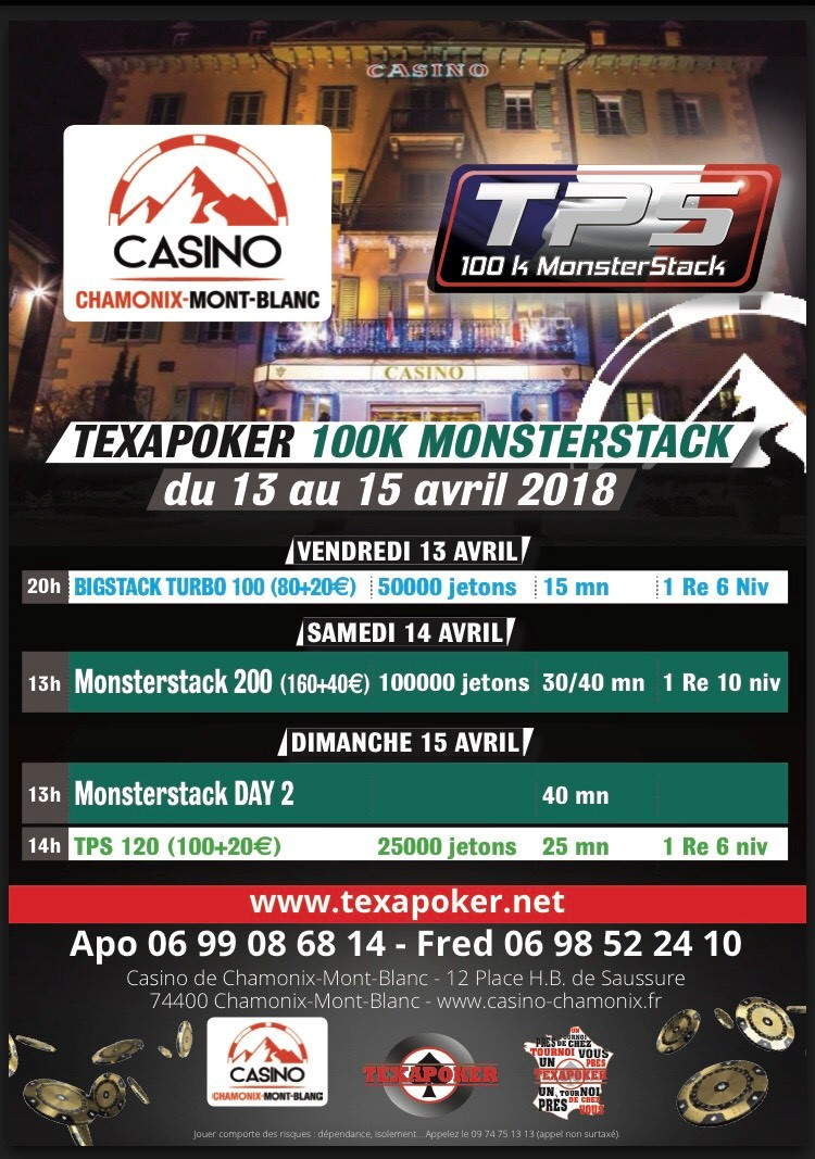 Affiche tournoi poker avril